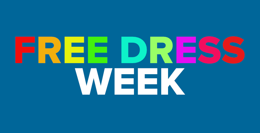 Free Dress Week