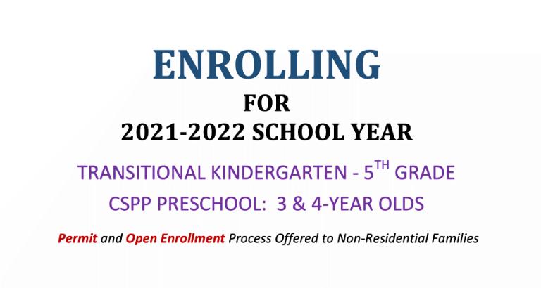 enrolling 2021